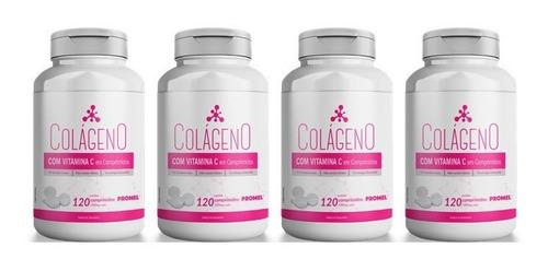 Imagem 1 de 2 de 4 Colágeno Com Vitamina C 120 Comprimidos 1000mg Promel