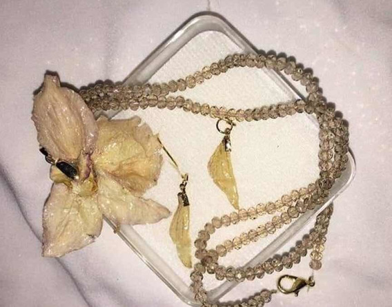 Collares De Orquídeas