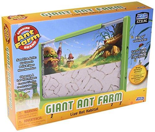 Uncle Milton Giant Ant Farm Nuevo Kit De Diseño