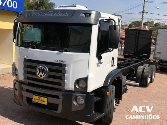 Vw 24280 2013 Ún Dono Chassi
