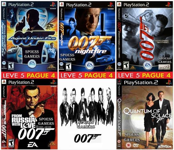 007 James Bond Collection (6 Jogos) Ps2 Desbloqueado Patchs