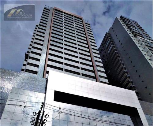 Imagem 1 de 15 de Sala Para Alugar, 46 M² Por R$ 1.950/mês - Boqueirão - Praia Grande/sp - Sa0032