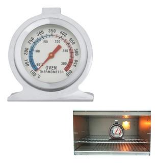 Termometro Para Horno Reposteria Cocina Pan Acero Inoxidable