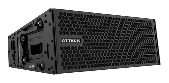 Caixa Ativa Line Array L206d Attack 2x6 Verticon I9som