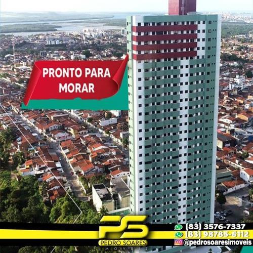 Apartamento Com 2 Dormitórios À Venda, 53 M² Por R$ 246.500 - Jardim 13 De Maio - João Pessoa/pb - Ap2931