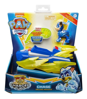 Paw Patrol Super Paws Migthy Pups Vehiculo + Figura