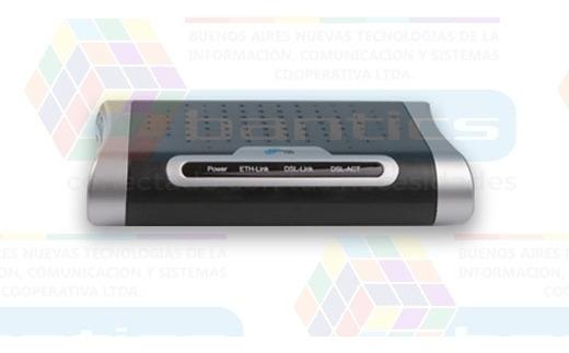 Adsl Modem Con Router Noganet Kn988er