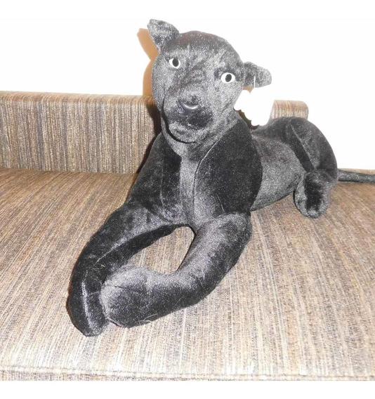 Pantera Negra Pelucia Fo C/selo Imetro 1,51cms Frete Gratis