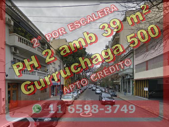551 Venta Ph Villa Crespo 2 Ambientes Escalera Palermo