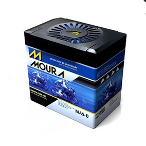Bateria Moto Moura Ma5-d - Honda Cg Fan -titan 125 / 150