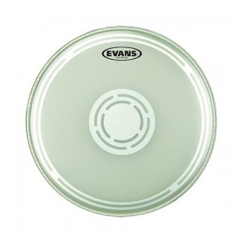 Imagen 1 de 5 de Parches Para Tarola Evans  Ec Reverse Dot - Snare