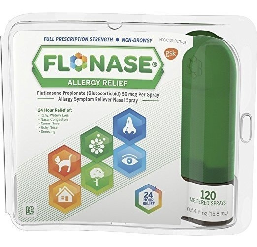 Spray 0.54 Fl Oz Flonase Alivio De La Alergia Nasal