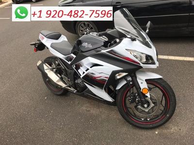 2017 Blanco Ninja Kawasaki 300abs