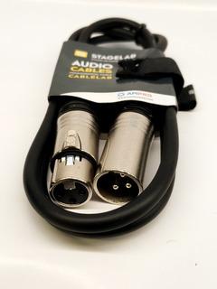Cable Canon Canon Xlr 1 Mts Audiolab Tipo Neutrik Oferta