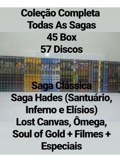Dvd Box Os Cavaleiros Do Zodiacos Todas As Sagas + Filmes