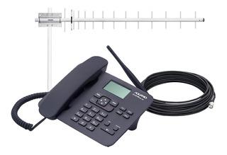 Telefone Celular Para Zona Rural 900mhz Com Antena + Cabo