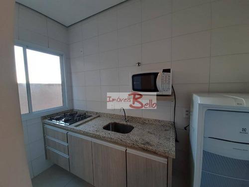 Apartamento Com 1 Dormitório À Venda, 38 M² Por R$ 180.000,00 - Morrão Da Força - Itatiba/sp - Ap0541