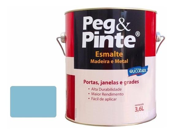 Tinta Madeira E Metal Esmalte / Óleo Sintetico 3,6l Eucatex