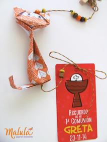 Souvenir Cumpleaños Origami Colgante Gatos + Tag Person.