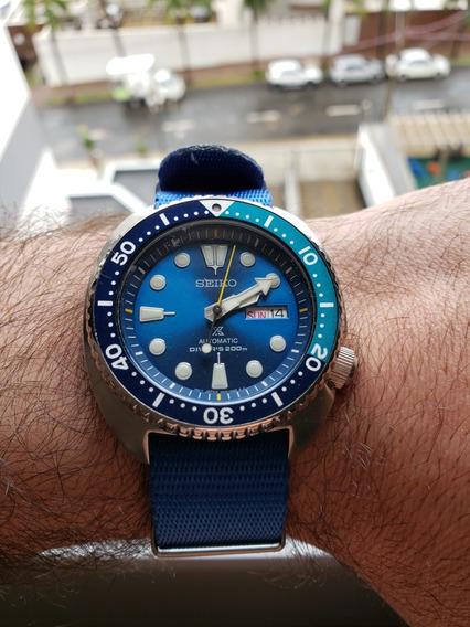 Relógio Seiko Turtle Blue Lagoon - Limited Edition
