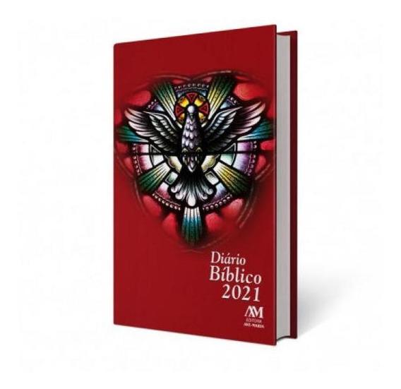 Diario Biblico 2021 - Capa Almofadada - Espirito Santo - Ave