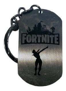 Llavero Fortnite Metal Battle Royale Coleccion Playstation