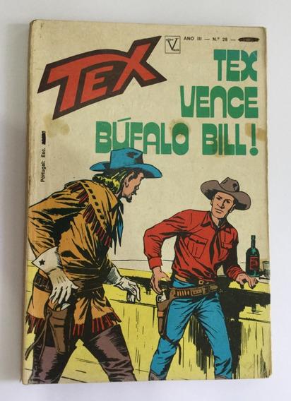 Tex Nº 28 - 1ª Edição - Tex Vence Búfalo Bill - Frete Grátis
