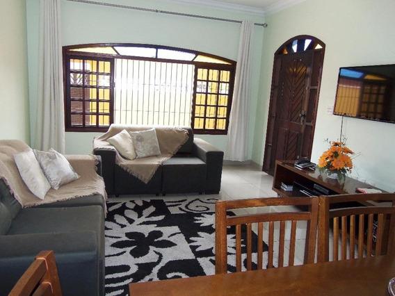 Sobrado Com 4 Dormitórios À Venda, 184 M² Por R$ 630.000,00 - Jardim Casqueiro - Cubatão/sp - So0328