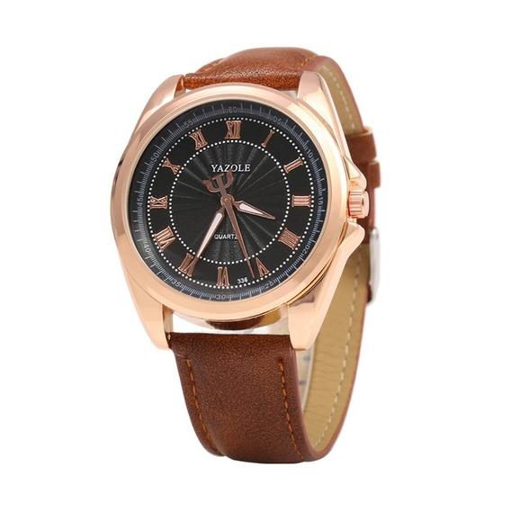 Relógio Masculino De Pulso Social Yazole 336