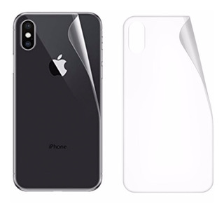 Pelicula Traseira Gel iPhone 7 8 Plus X Xs Xr Xs Max - Fina