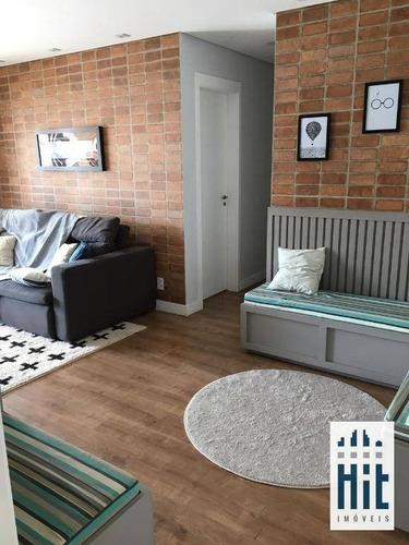 Apartamento À Venda, 73 M² Por R$ 943.000,00 - Vila Monte Alegre - São Paulo/sp - Ap3824