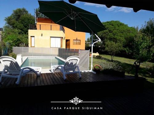 Alquiler Cordoba Carlos Paz, Villa Parque Siquiman 8 Pers