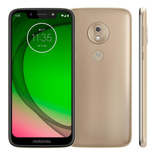 Smartphone Motorola Moto G7 Play 32gb Xt1952-2 Ouro Lacrado