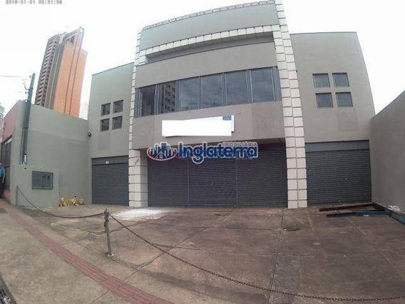 Barracão Para Alugar, 1000 M² Por R$ 18.000/mês - Centro - Londrina/pr - Ba0004