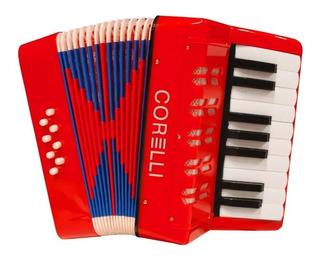 Acordeon Para Niños 8 Bajos 17 Teclas Piano Whc104