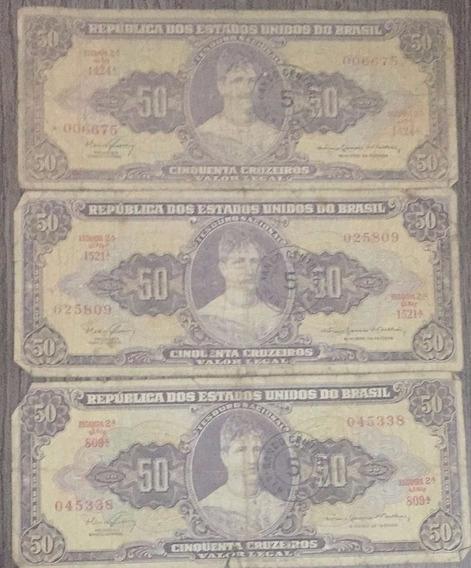 50 Cruzeiros - Bom Estado