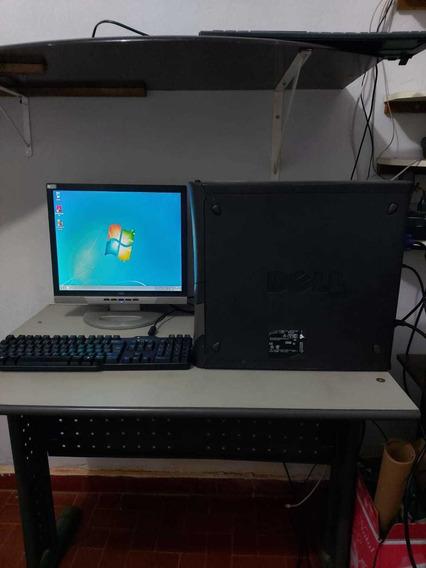 Computador Dell Monitor Aoc Lcd 17 P E Teclado Dell