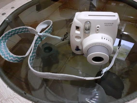 Câmera Instantânea Fujifilm Instax Mini8 Branca (leia)