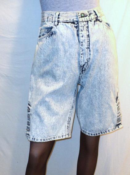 Jean Pantalon Baccini Bermuda Mujer Tall 9/10 Cintura 64 Cm