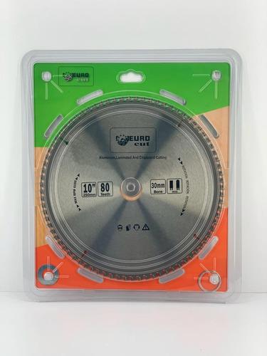 Sierra / Disco Para Cortar Aluminio De 10 X 80z Eurocut