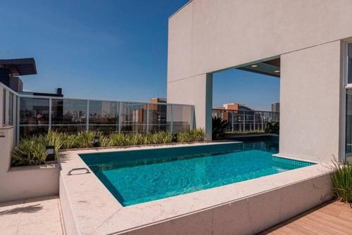 Apartamento Duplex Para Venda Em São Paulo, Vila Olímpia, 1 Dormitório, 1 Suíte, 2 Banheiros, 1 Vaga - Cap1358_1-1182397