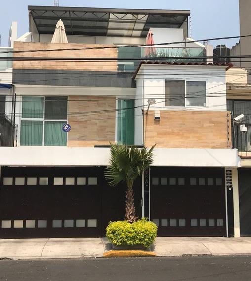 Hermosa Residencia Remodelada En Benito Juarez