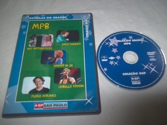 * Dvd - Mpb - Estrelas Do Brasil - Mpb Coletãnia