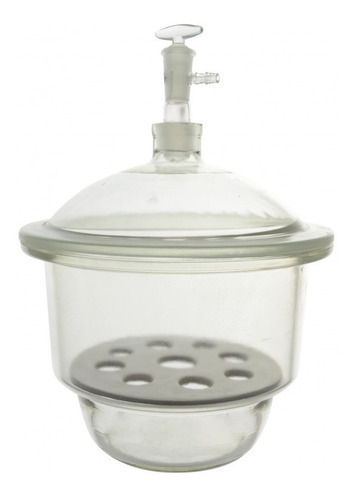 Imagen 1 de 2 de Desecador Desecadores De Vidrio 180cm Material Laboratorio