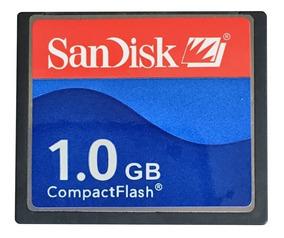 Compact Flash Cf Sandisk 1gb Cartão De Memória