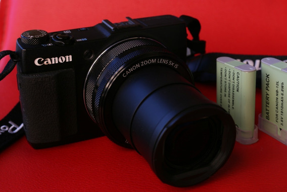 Camera Canon G1x Markll - Lente Zoom 2.0 - Imperdível
