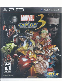 Marvel Vs. Capcom 3 Fate Of Two Worlds Ps3 Disco Como Nuevo