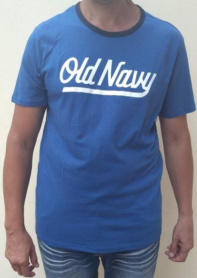 Remera Old Navy De Hombre Color Azul