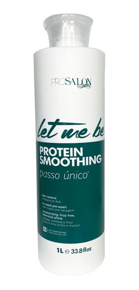 Let Me Be Protein Smoothing Treatment Prosalon 1l + Brinde