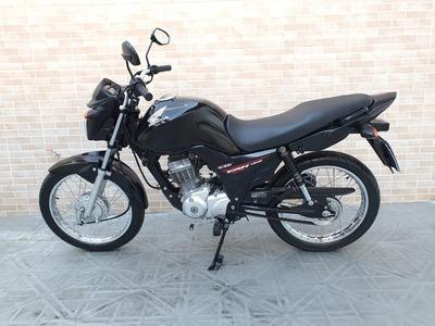 Honda Cg 125 Fan Ks Preta 2015